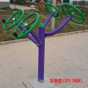 综合讯:安徽池州市小区健身器材