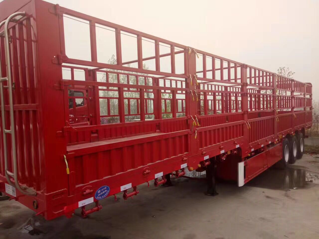 货车内部结构
