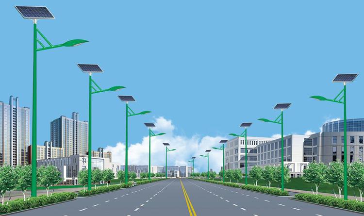 山东青岛李沧路灯厂里太阳能路灯价格多少安装售后