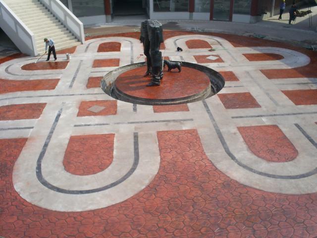 水泥艺术造型圆柱