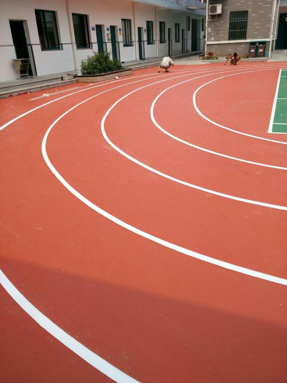 潜山塑胶网球场施工保证验收