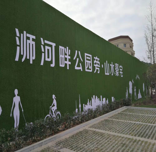 张家口工程墙面草皮(工程赏析:泊头,任丘,黄骅)图片