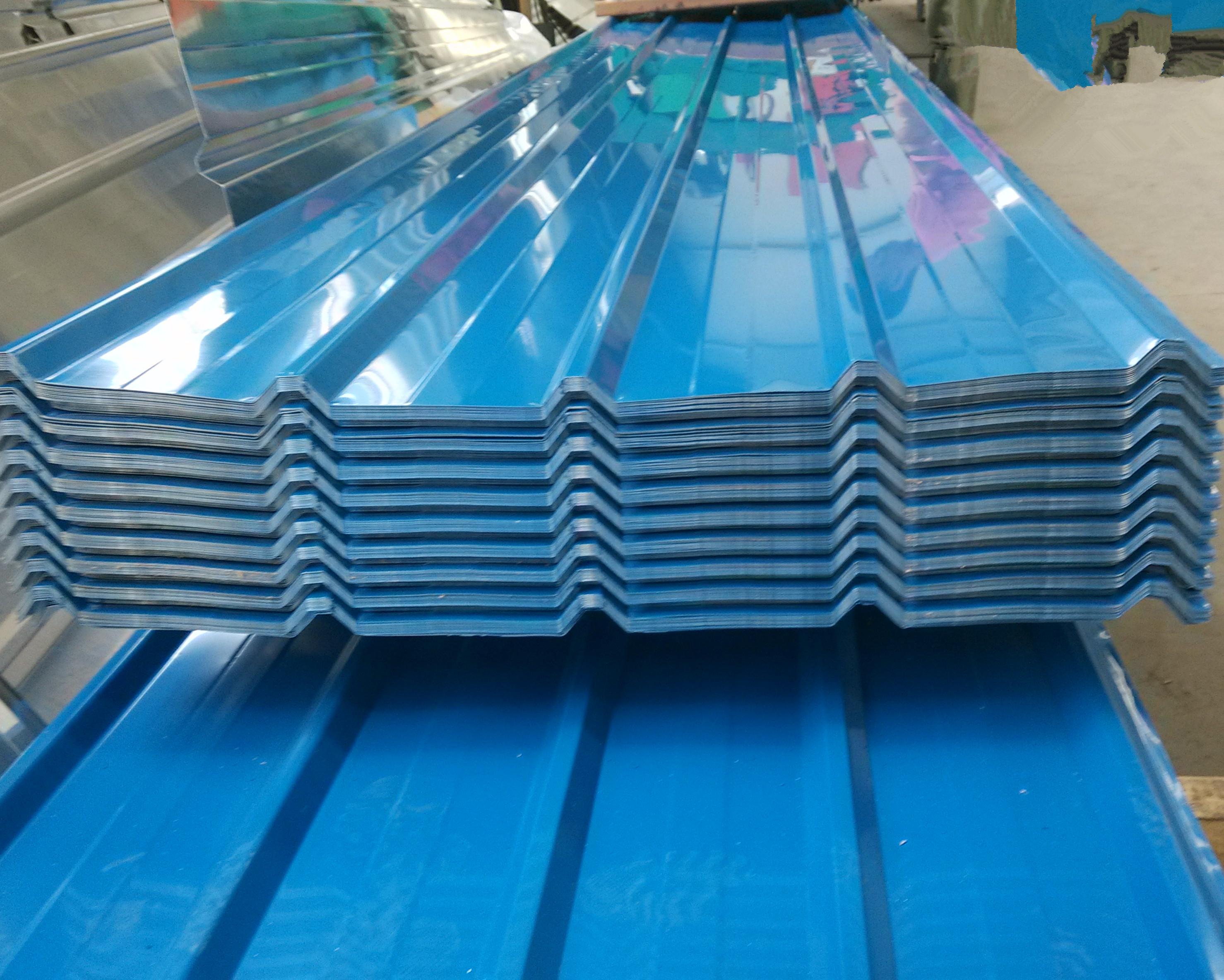库存放发行0.72mm色浪铝瓦壹吨平方数