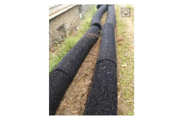 玉溪通海塑料盲沟管-110打孔波纹管-桥梁打孔波纹管