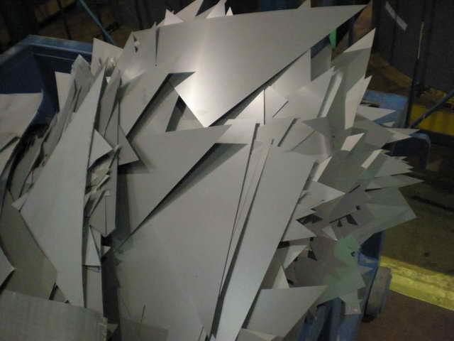 铅模具制图纸