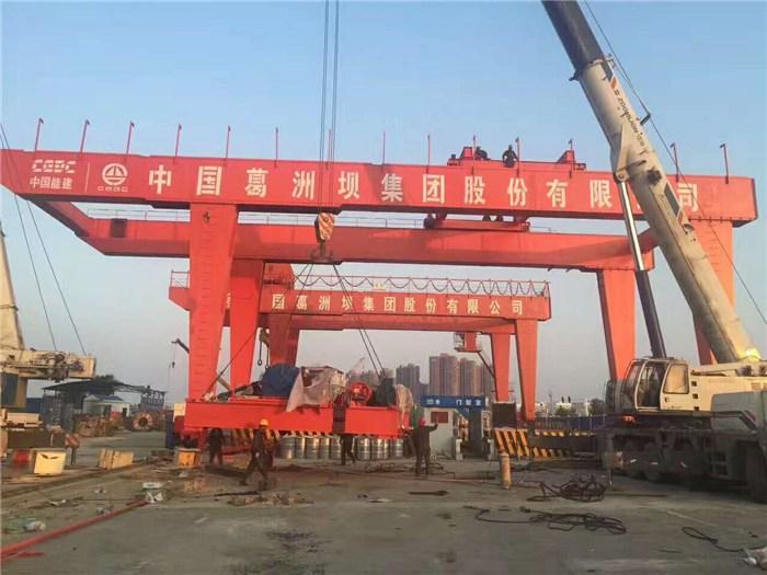 晋中祁县10顿单梁航吊,100吨龙门航车