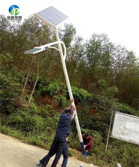 武隆县农村一体化太阳能路灯价格包含安装