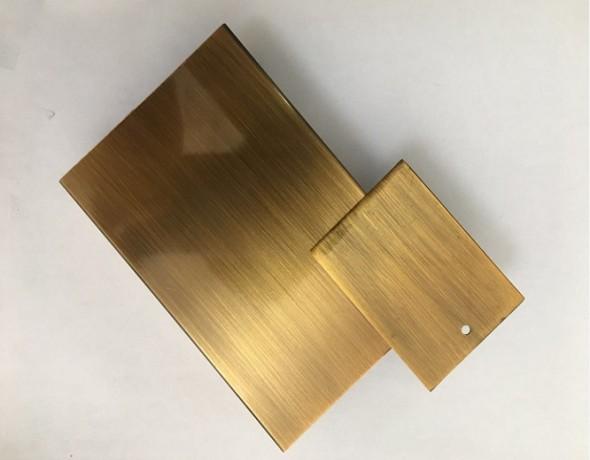 钛铜相�_20*60镜面黄钛金6米水镀