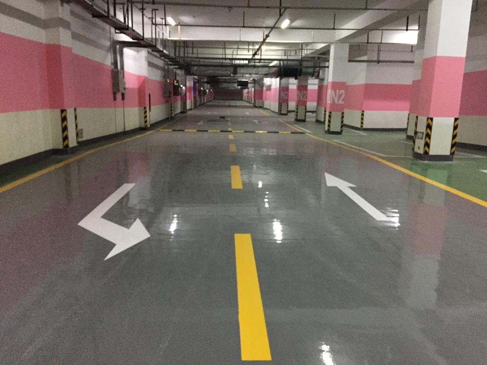 停車位地坪設計規范