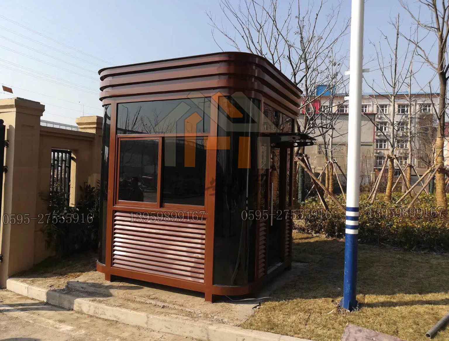 江西九江钢结构岗亭加工 设计