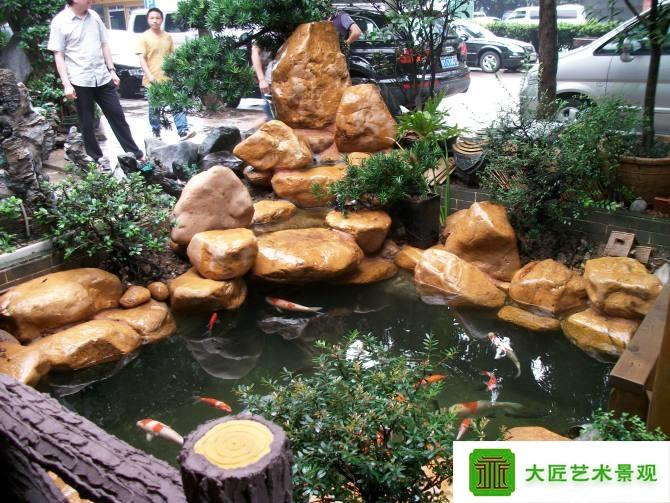 室內水池景觀造型