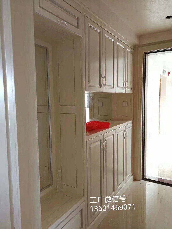 茂名市实木衣柜定制厂家_全实木整体衣柜 家具定做设计