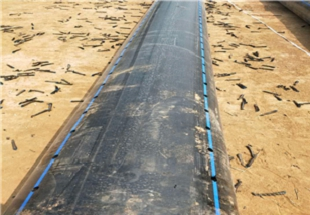 咸阳拖拉穿越PE给水管-本溪