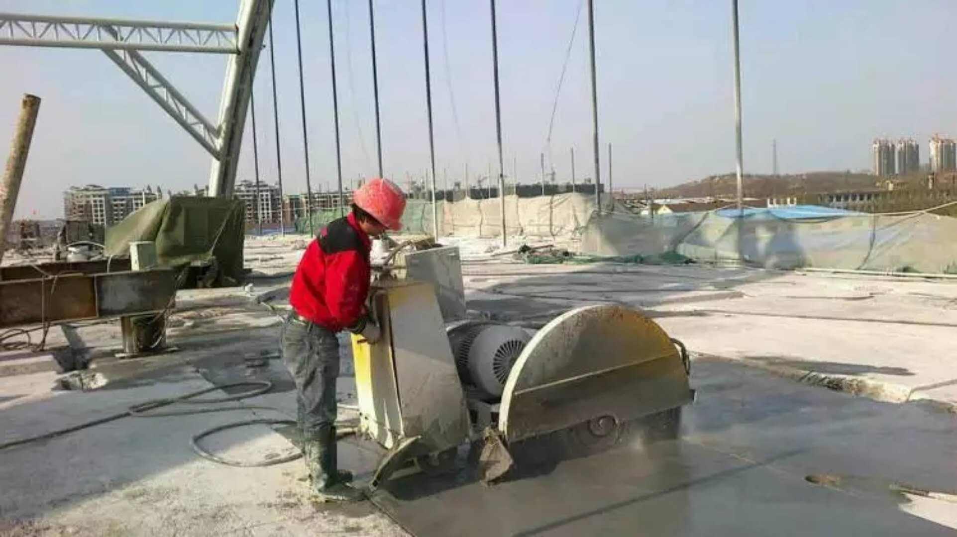 结构无损拆除综合施工技术