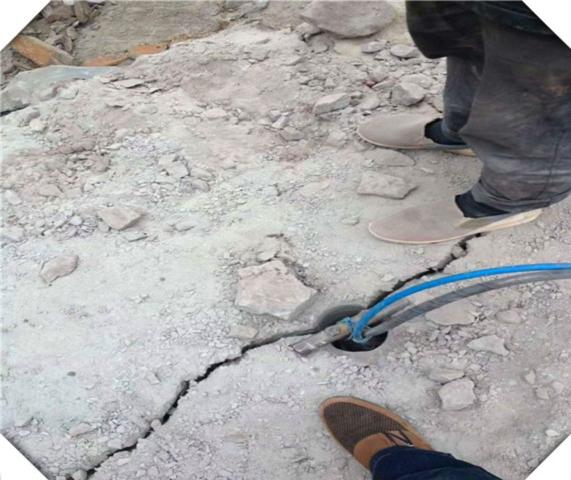 石家莊房建地基開挖巖石開采劈裂機