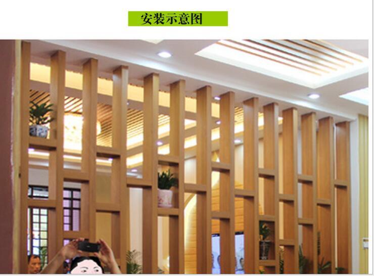 江海区飞机木方通工程用价便宜genmu根沐生态杯图片