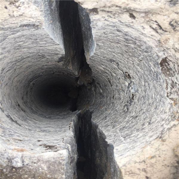 石块静态拆除破裂机价低效率高