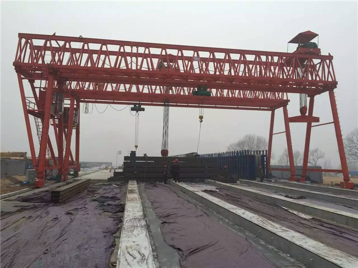 永州江永100吨龙门航吊,十吨地轨航车