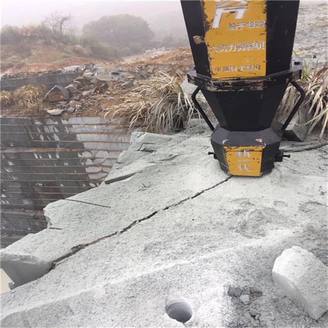 代替破碎锤矿山开采液压破石机矿山劈裂机