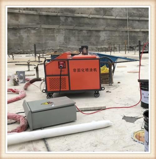 陵水非固化喷涂机脱桶器配合脱桶器使用