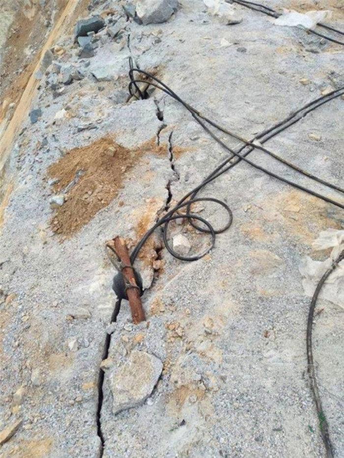 河南平顶山岩石静态分裂用劈裂机常州头条