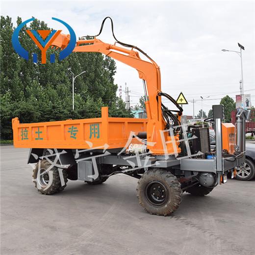 新会区10吨随车挖价格 四不像随车挖好用吗