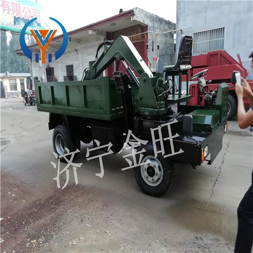 皮山县四不像挖掘机厂家 农用随车挖厂家批发
