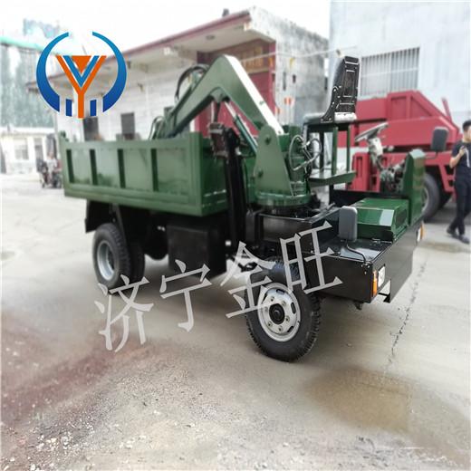武平县4102四驱随车挖随车挖掘机价格生产厂家