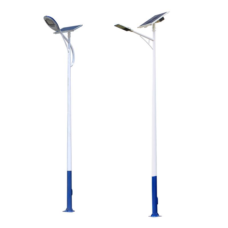 5,按供电方式分:市电路灯与太阳能路灯,风光互补路灯 石峰太阳能路灯