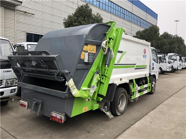 掃地車結構壓縮車廠家、壓縮車價格、東風壓縮車 產品優勢