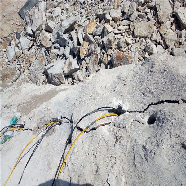 定西:开采石头没产量用什么
