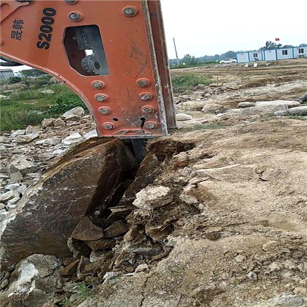 德州矿山开采比钩机产量高的破石头设备原装现货