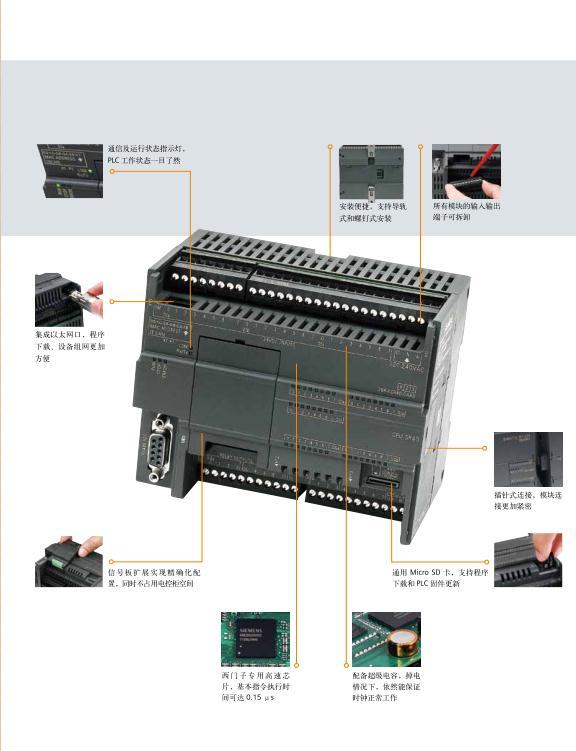 S7-200ARTPLC模块模拟输入AI04总经销