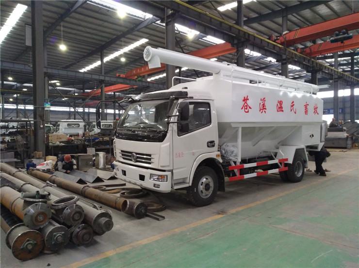 18吨散装饲料运输车厂家销售电话