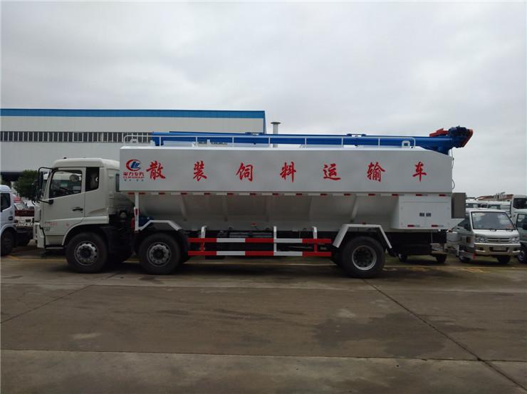 30吨散装猪饲料罐车质量好价格优的