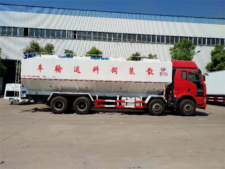 解放J6单桥散装饲料罐车在哪里可以买到
