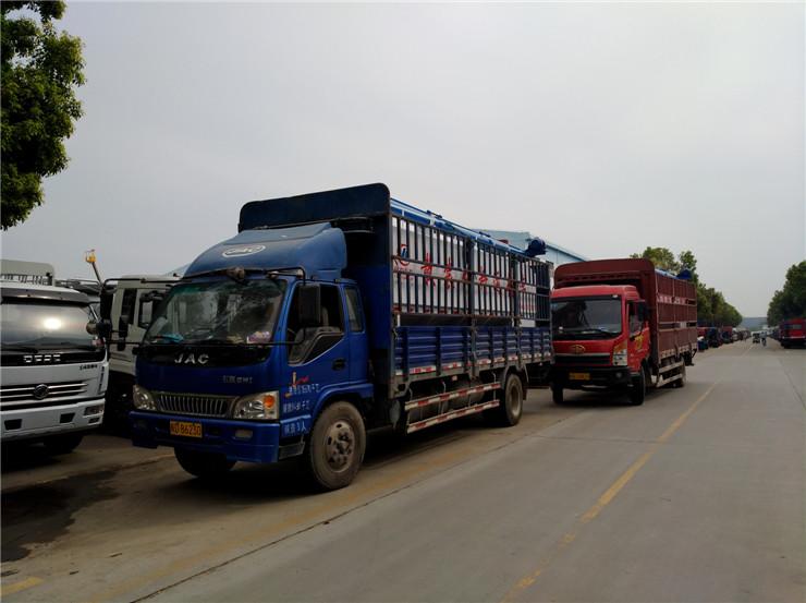 江门江海9方散装饲料运输车生产厂家销售报价