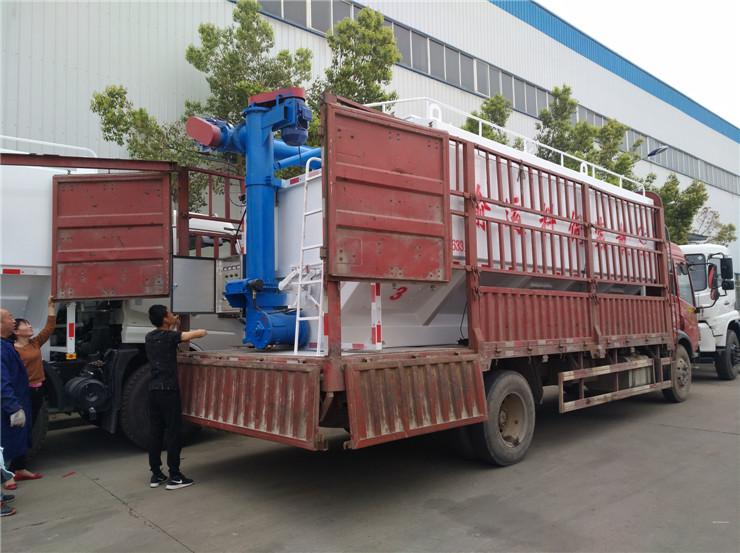 江门江海30吨散装猪饲料罐车生产厂家销售报价