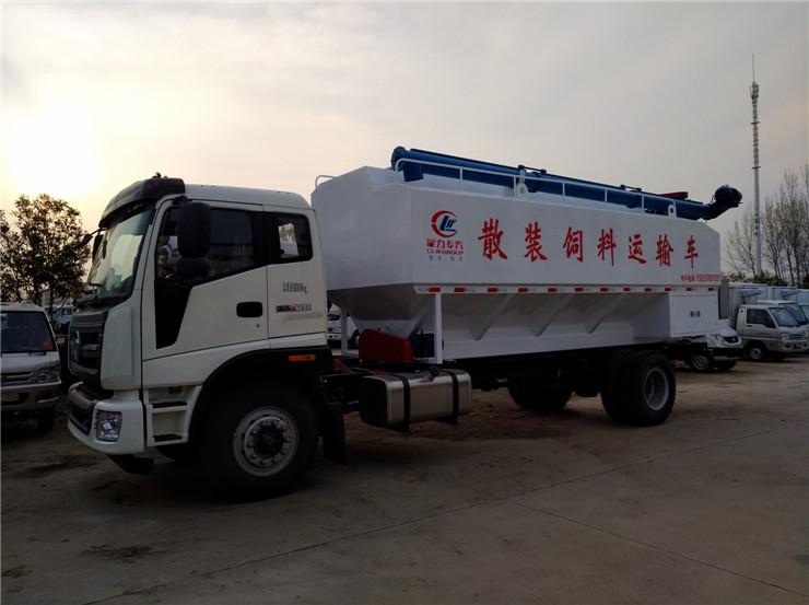 江门江海21方猪饲料车生产厂家销售报价