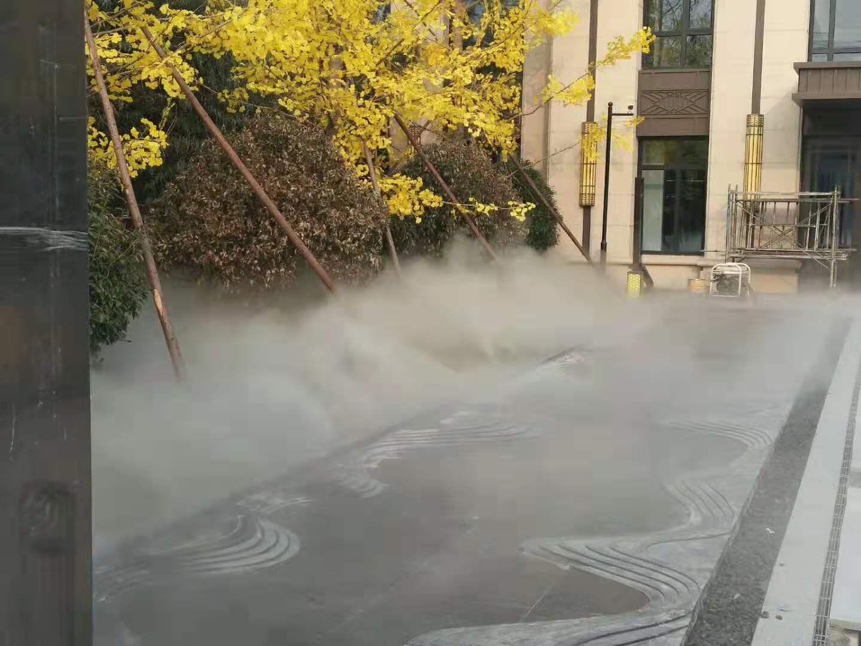昆明別墅區造霧設備隨州園林霧森景觀工程
