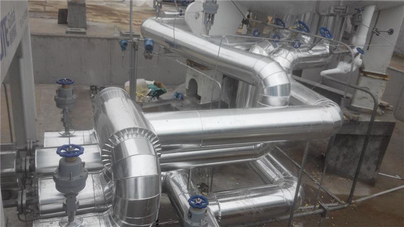 小食品加工機械舒城管道鐵皮保溫工程施工隊,彩鋼板罐體保溫施工價格
