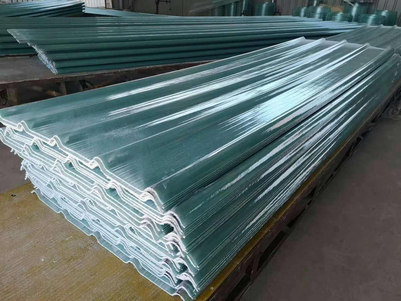 崇阳钢结构玻璃钢透明瓦frp采光瓦业绩辉煌