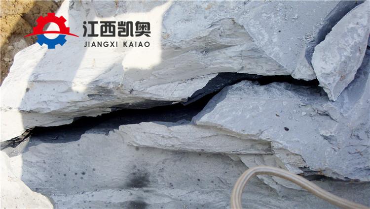 亚博:邢台劈裂机劈石一天多少方