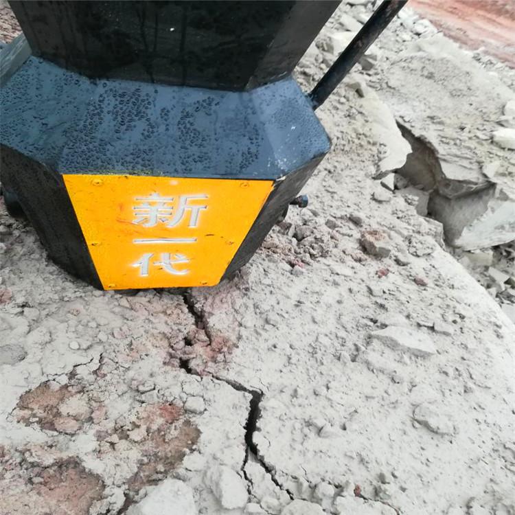 喀什泽普破井下岩石用哪种破碎机安装劈裂棒厂家