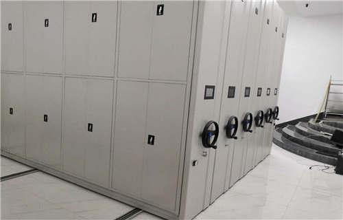 五大连池档案库房移动密集柜工作原理
