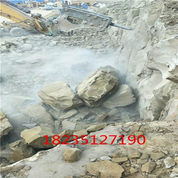 惠州青石矿山遇到岩石不能放使用情况