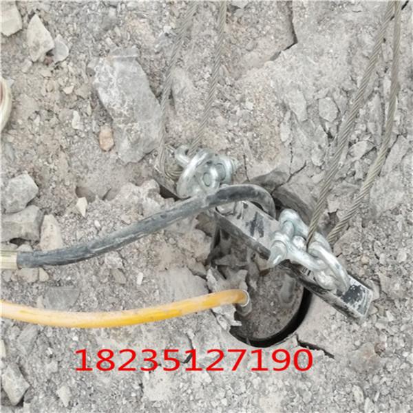 大庆取代挖机静态开石头设备调试图片
