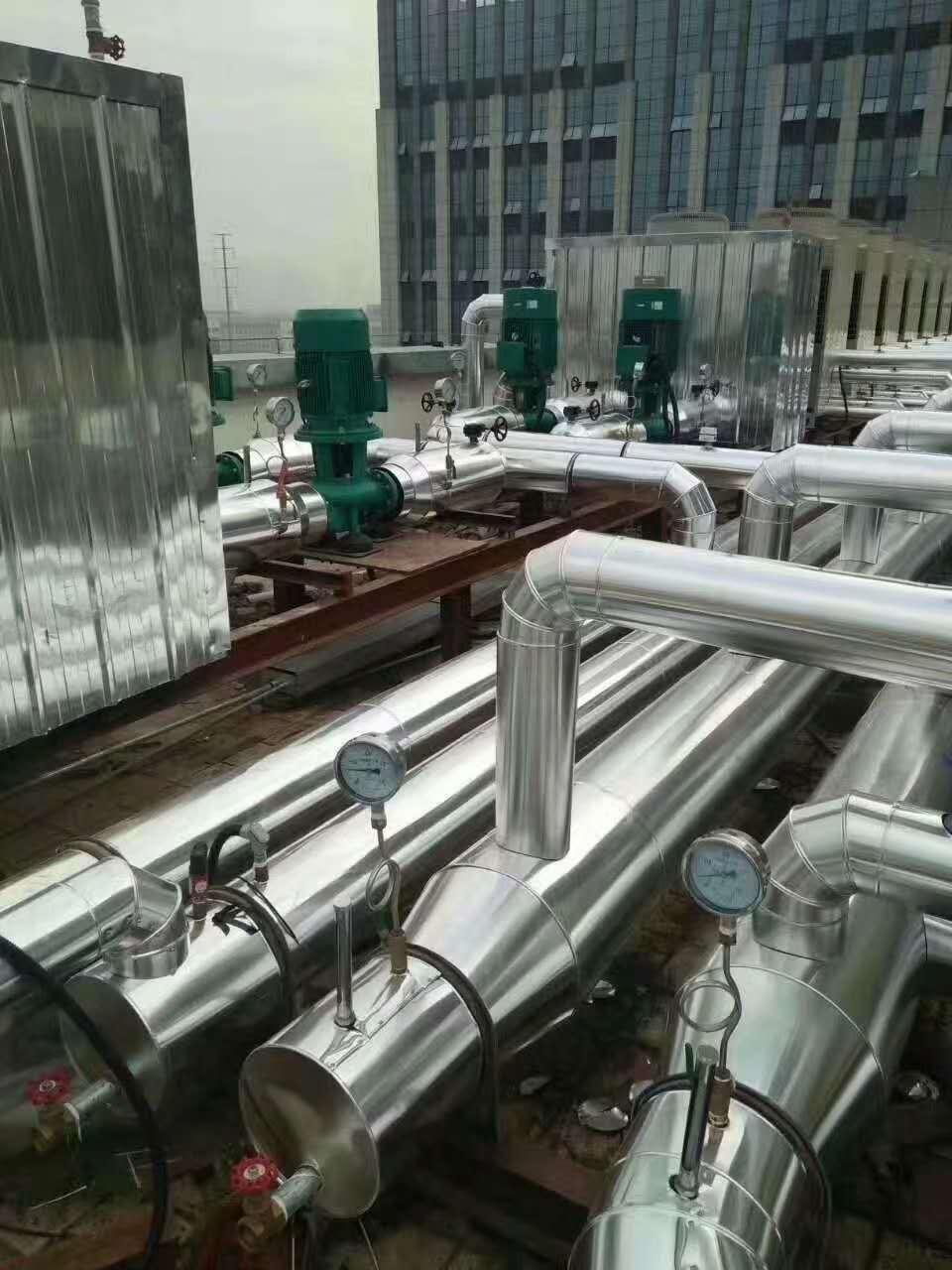 赣州换热站加压站铁皮保温保温如何更有效
