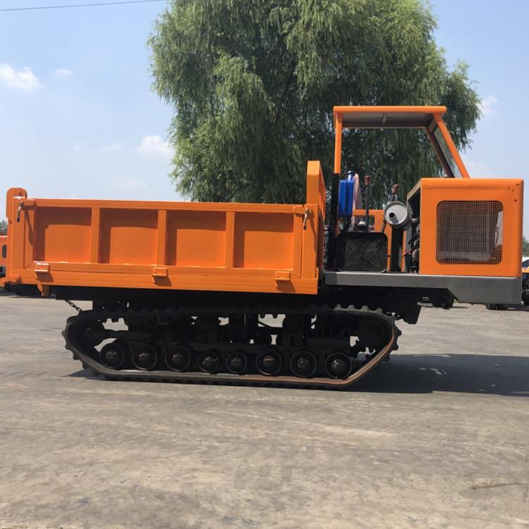 汝城县履带式渣土运输车的主要用途图片