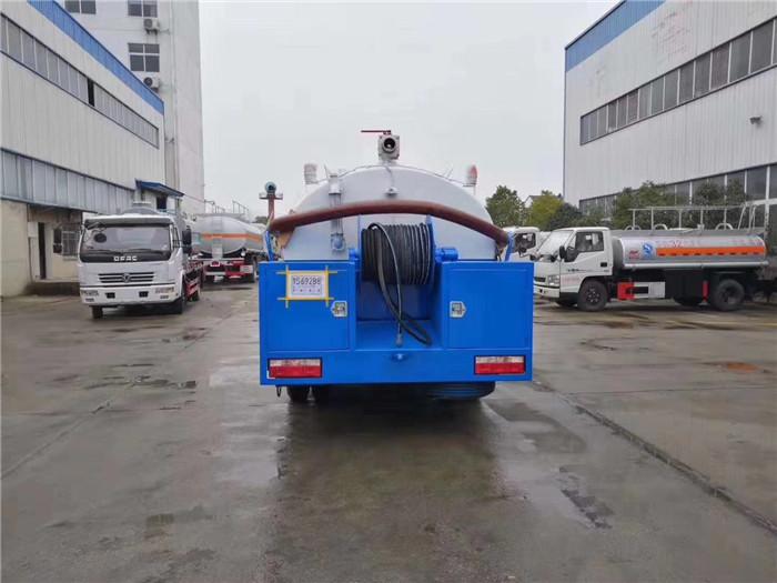 东风抽泥浆吸污车生产销售厂家